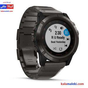 ساعت گارمین مدل fenix 5x plus titanium