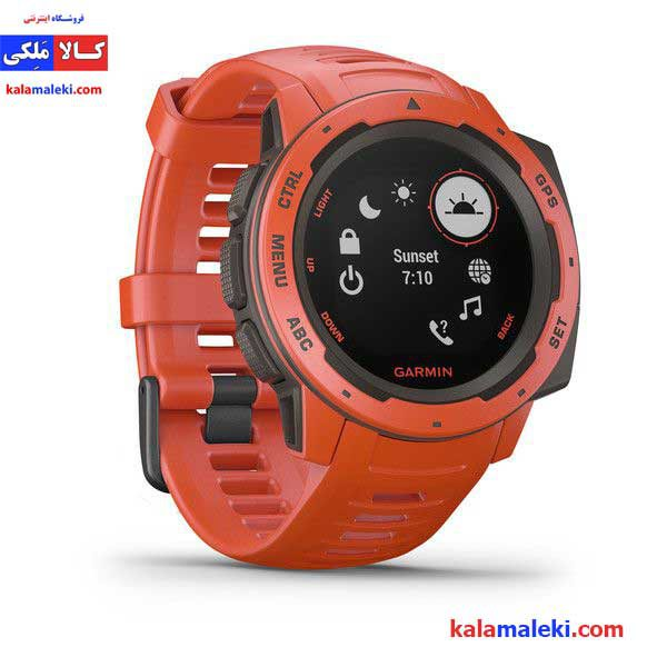 ساعت گارمین مدل Instinct Flame Red