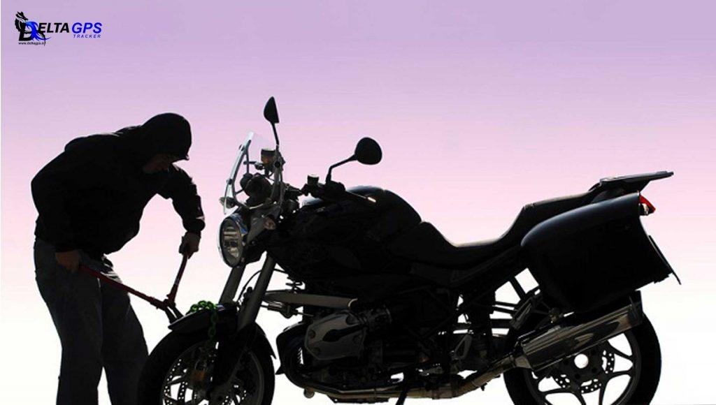 جی پی اس ردیاب موتور سیکلت بلنی پالس آپاچی با دزدگیر